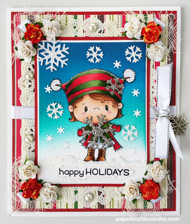Happy-Holidays-Card—Papercraft-Business